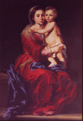 Mary and her Baby