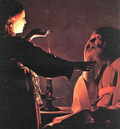 Joseph's Dream by Georges de la Tour