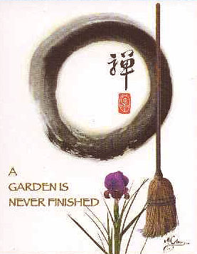 a garden is never finished