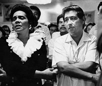 Coretta and Cesar