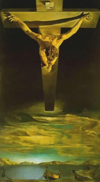 The crucifixion by Salvador Dali